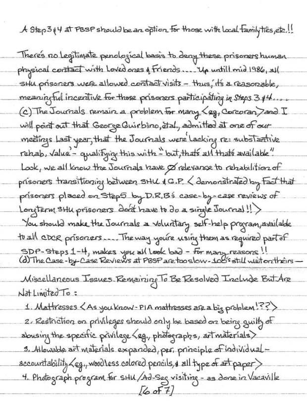 Todd Ashker to Mike Stainer et al. Sept. 14 2014, p.6